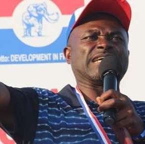 For God's sake, shut up, Kennedy Agyapong